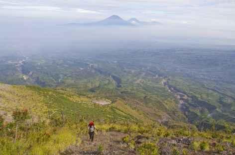 Montée au volcan Merapi, Java - Indonésie -