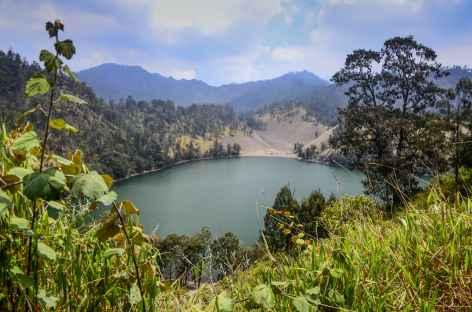 Lac de Ranu Kumbolo, trek du Semeru, Java - Indonésie -