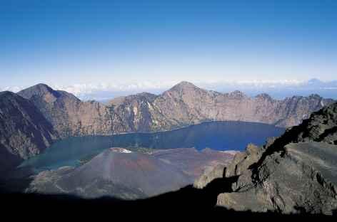 Caldeira du volcan Rinjani, Lombok - Indonésie -