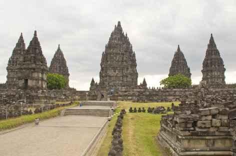 Temples hindouistes de Prambanan, Java - Indonésie  -