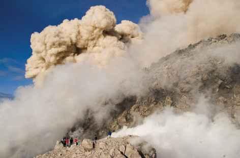 Eruption de juin 2006 au Merapi, Java - Indonésie -