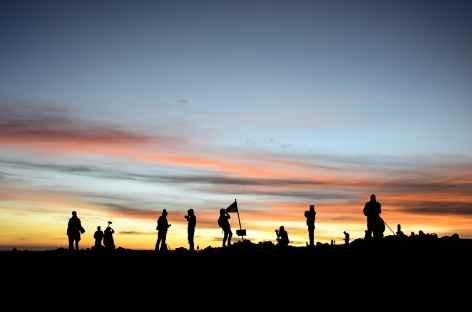 Lever de soleil au sommet du Semeru, Java - Indonésie -