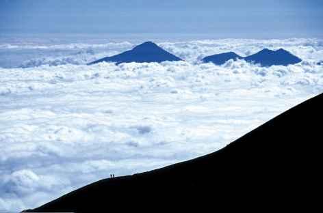 Montée sur le volcan Agung, Bali - Indonésie -