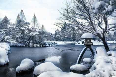 Jardin Kenroku-en à Kanazawa, Honshu - Japon -