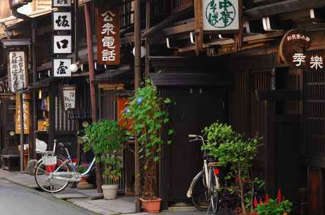 Maisons traditionnelles de Takayama, Alpes Japonaises - Japon -