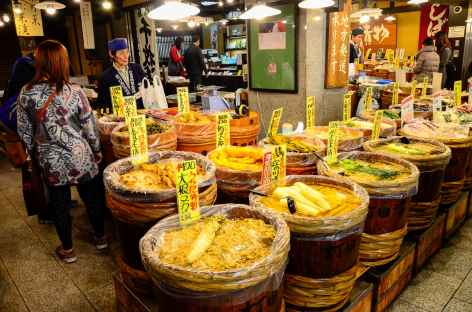 Marché de Nishiki à Kyoto - Japon -