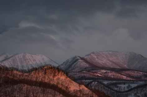 Paysages volcaniques du Parc national d'Akan, Hokkaido - Japon -