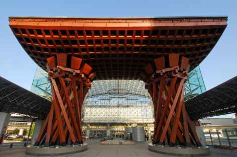 Gare de Kanazawa, Honshu - Japon -