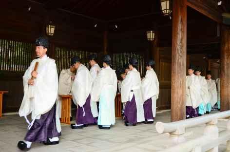 Sanctuaire shintoïste de Meiji-jingu, Tokyo - Japon -
