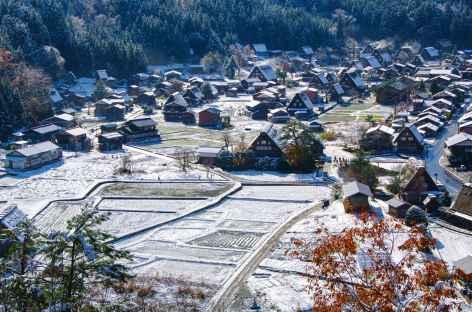 Village de Shirakawago, Alpes Japonaises - Japon -