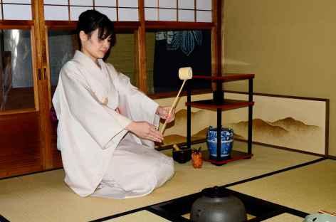 Cérémonie du thé à Kyoto - Japon -