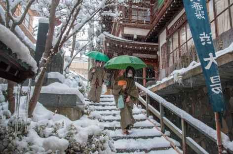 Yudanaka Onsen, Alpes Japonaises - Japon -