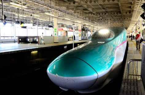 Shinkansen ou train à grande vitesse japonais - Japon -