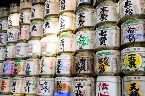 Au sanctuaire de Meiji Jingu, Tokyo - Japon -