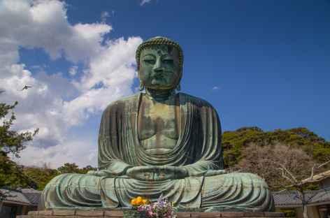 Grand bouddha de 11 m de haut, Kamakura - Japon -