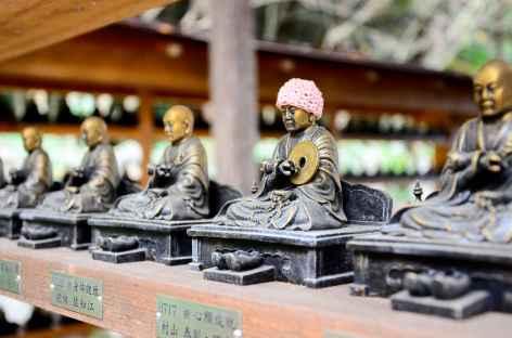 Icônes bouddhiques, temple de Daisho-in, île de Miyajima - Japon -