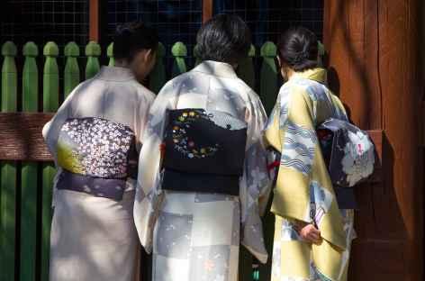 Femmes en kimono - Japon -
