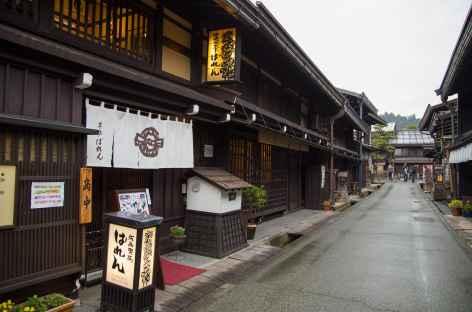 Vieilles maisons en bois de Takayama, Alpes Japonaises - Japon -