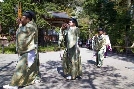 Cérémonie de mariage à Kamakura - Japon -