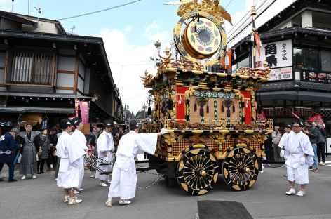 Célébrations de Takayama Matsuri à Takayama - Japon -