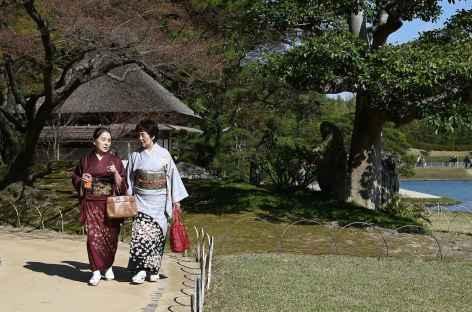 Jardin de Koraku-en à Okayama - Japon -