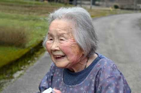 Dans la campagne vers Hikimi - Japon -