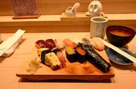 Raffinement des repas japonais - Japon -