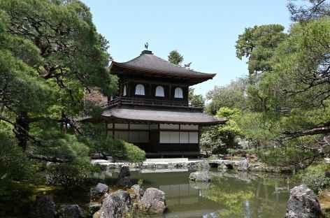 Pavillon d'Argent (ou temple Ginkaku-ji) à Kyoto - Japon -