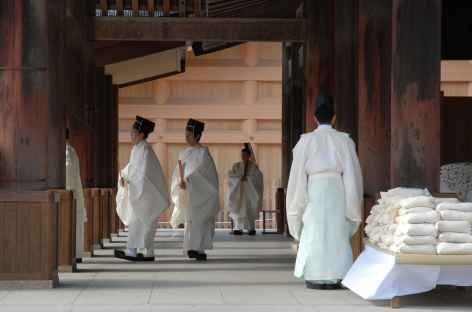 Cérémonie à Izumo-Taisha - Japon -
