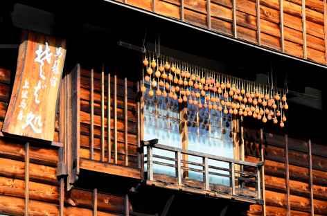 Maison traditionnelle de Magome, Alpes Japonaises - Japon -