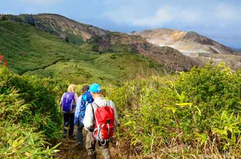 Randonnée vers le volcan Akita-Yakeyama (1366 m) - Japon -