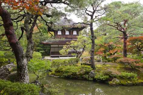 Temple Ginkaku-ji (ou Pavillon d'Argent), Kyoto - Japon -