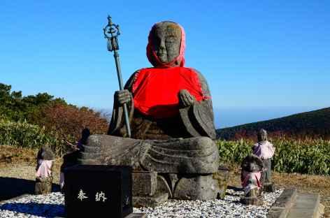 Marche sur les hauteurs de Zao Onsen - Japon -