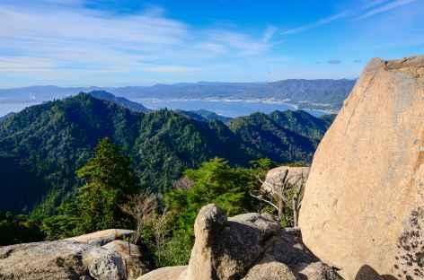 Panorama 360° depuis le Mont Misen (535 m), île de Miyajima - Japon -