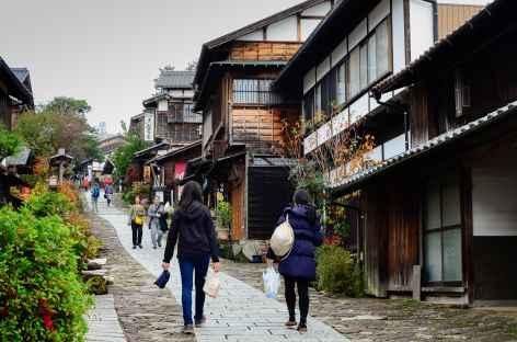 Ruelles pavées de Magome, Alpes Japonaises - Japon -