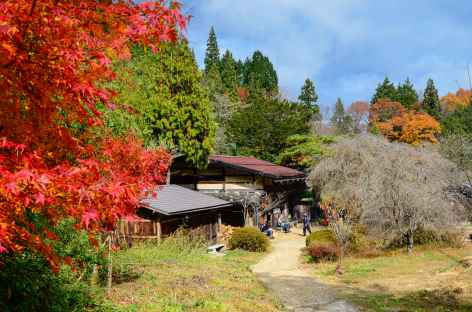Sur le chemin de Nakasendo, entre Magome et Tsumago - Japon -