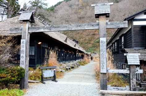 Notre ryokan ancestral à Nyoto Onsen - Japon -