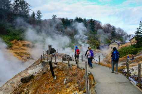 Zone volcanique de Goshogake Onsen - Japon -