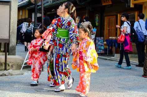 Dans les rues de Kyoto - Japon -