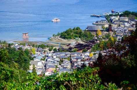 Descente du Mont Misen, île de Miyajima - Japon -