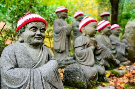 Aux abord du temple de Daisho-in, île de Miyajima - Japon -
