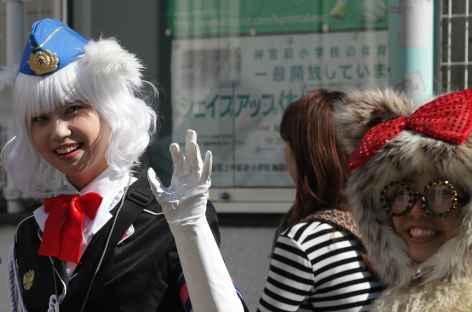 Rue animée de Takeshita-dori, Tokyo - Japon -