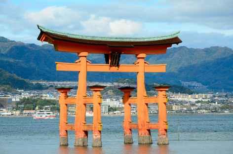 Torii flottant, île de Miyajima - Japon -