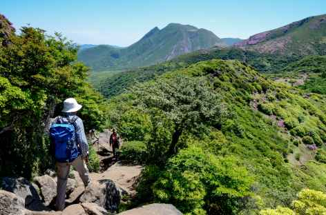 Rando dans les montagnes de Kuju - Japon -