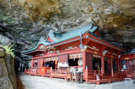 Sanctuaire d'Udo situé dans une grotte - Japon -