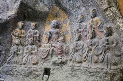 Les bouddhas en pierre d'Usuki - Japon -