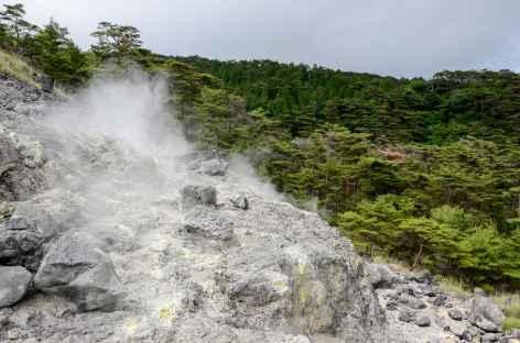 Site géothermique de Kirishima Onsen - Japon -