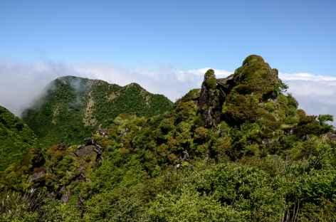 Rando dans les montagnes d'Unzen Fugen (1359 m) -