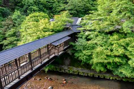 Dans le village de Kurokawa Onsen - Japon -