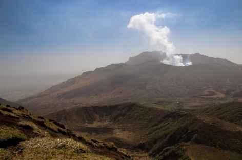 Caldeira du Mont Aso et ses volcans actifs - Japon -